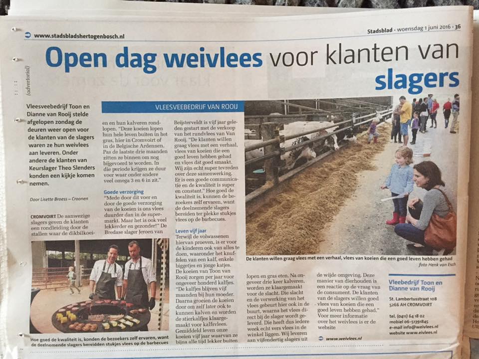 Weivlees_krant_open_dag